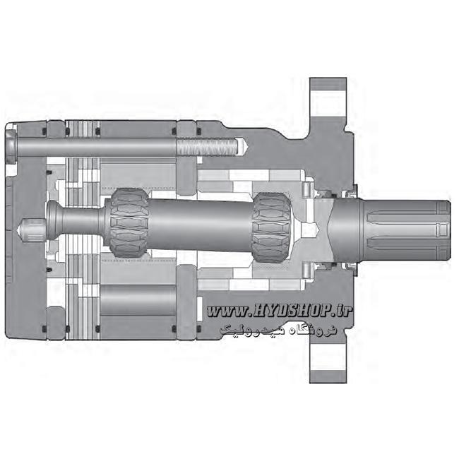 ساختار هیدروموتور پارکر TC