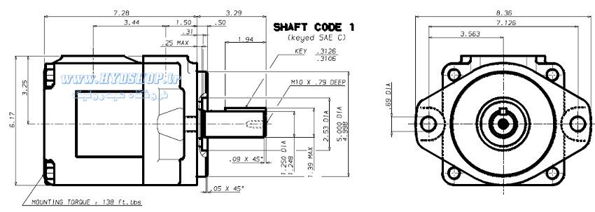 ساختار پمپ پارکر T6D