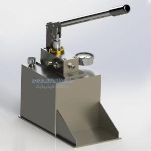 یونیت هیدرولیک با پمپ دستی