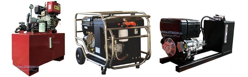 یونیت هیدرولیک با موتور گازوئیلی