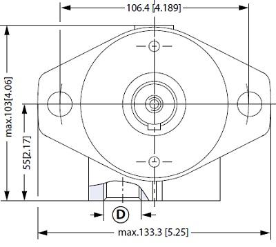 ساختار هیدروموتور قالب پلاستیک