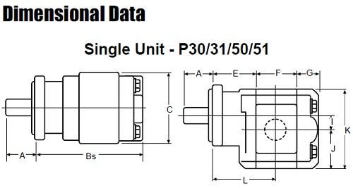 ساختار پمپ کامرشیال P30/31