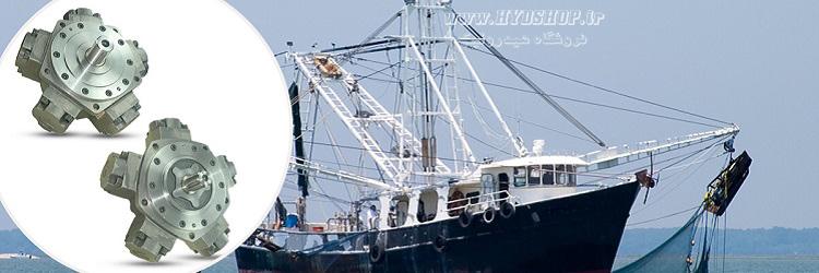 هیدروموتور کشتی صیادی