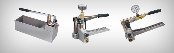 پمپ دستی هیدرولیک hand pump