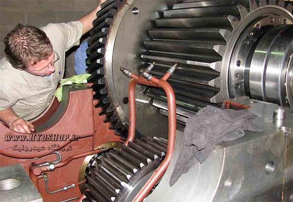 گیربکس دنده بزرگ بروینی Large Gears
