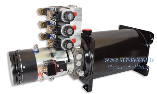 شیرآلات و لوازم جانبی برای یونیت هیدرولیک کوچک