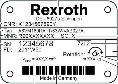 خرید هیدروموتور رکسروت A6VM