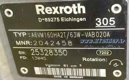 کاربرد هیدروموتور رکسروت A6VM
