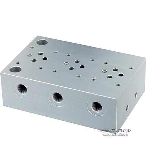 منیفولد فولادی سه طبقه هیدرولیک