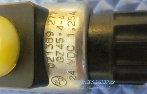 سلونوئید شیر رکسروت M-3SED6 (ولتاژ فرمان برق)